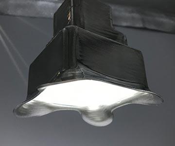 照明の試作品